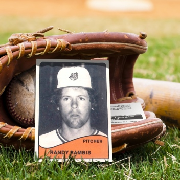 Randy Rambis Baseball Card Photo