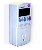 Kill-a-Watt electric consumption meter