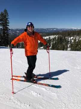 Craig Lindquist photo skiing